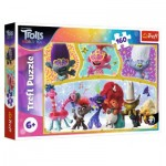 Puzzle  Trefl-15396 Dreamworks - Trolls World Tour