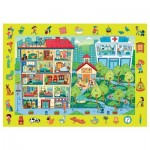 Trefl-15534 Puzzle Observation - Haus