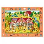 Trefl-15535 Puzzle Observation - Bauernhof