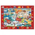 Trefl-15537 Puzzle Observation - Feuerwehr