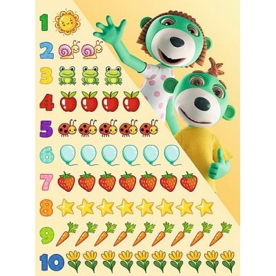 Puzzle Trefl-15554 Zahlen