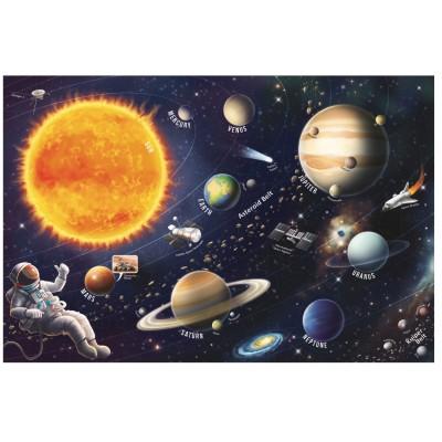 Puzzle  Trefl-15571 Sonnensystem