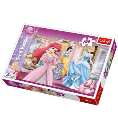 Puzzle  Trefl-16186 Disney Prinzessinnen: Bereit für die Gala