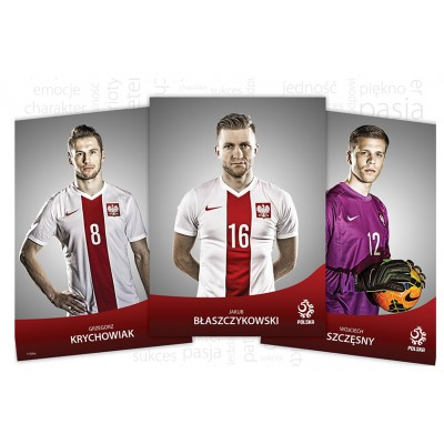Puzzle  Trefl-16254 Polnische Fußballer