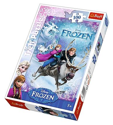 Puzzle  Trefl-16273 Frozen - Die Eiskönigin