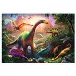 Puzzle  Trefl-16277 Welt der Dinosaurier