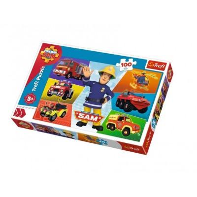 Puzzle  Trefl-16354 Fireman Sam