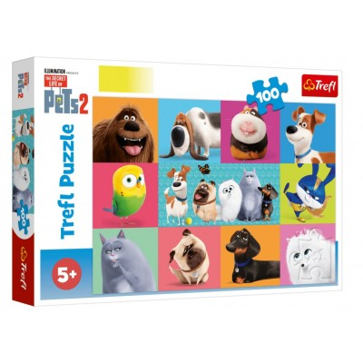 Puzzle  Trefl-16357 The Secret Life of Pets 2