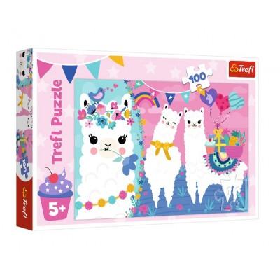 Puzzle Trefl-16363 Happy Llamas