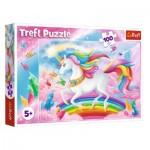 Puzzle  Trefl-16364 Einhorn