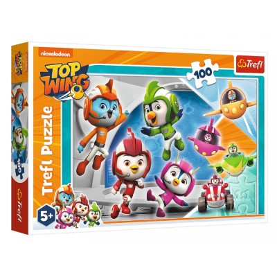Puzzle  Trefl-16395 Nickelodeon - Top Wing
