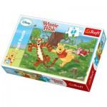 Puzzle  Trefl-17207 Winnie: Wettrennen
