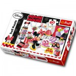 Puzzle  Trefl-17225 Minni die Modequeen