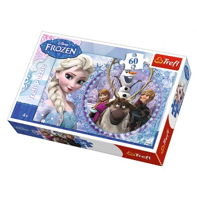Puzzle  Trefl-17275 Frozen - Die Eiskönigin