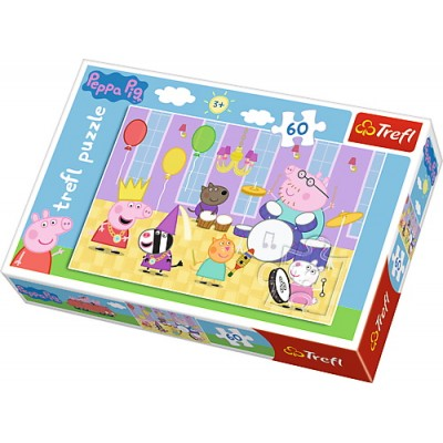 Puzzle  Trefl-17312 Peppa Pig