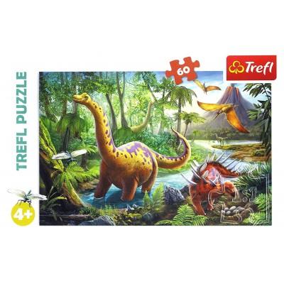 Puzzle  Trefl-17319 Dinosaurier