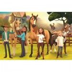Puzzle  Trefl-17331 Spirit Riding