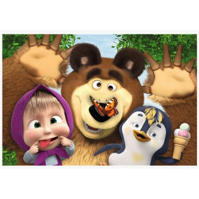 Puzzle  Trefl-17337 Masha and the Bear