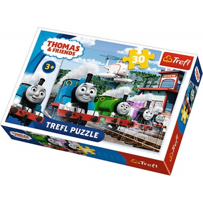 Puzzle  Trefl-18230 Thomas & Friends