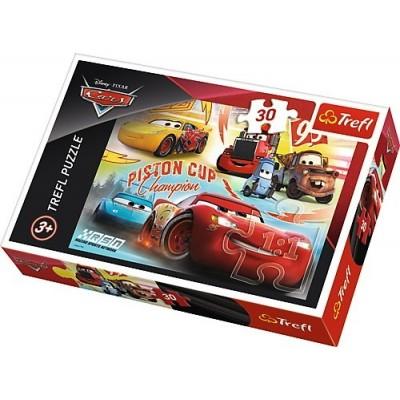 Puzzle  Trefl-18233 Cars