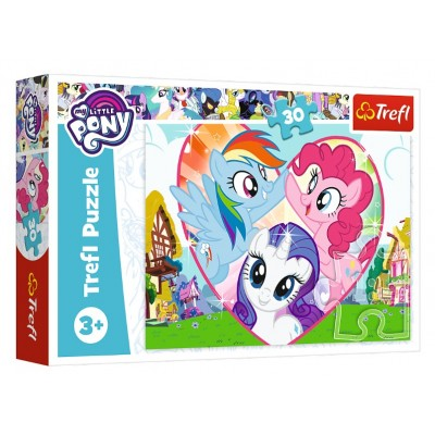 Puzzle  Trefl-18241 My Little Pony