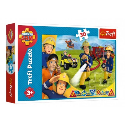 Puzzle  Trefl-18244 Fireman Sam