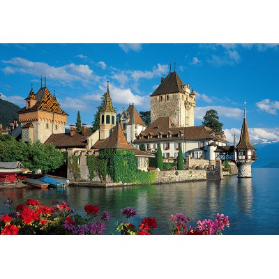 Puzzle Trefl-26102 Schloss Oberhofen, Schweiz