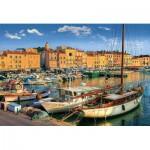 Puzzle  Trefl-26130 Alter Hafen in Saint-Tropez