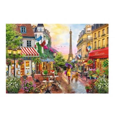Puzzle Trefl-26156 Pariser Charme