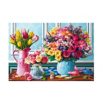 Puzzle  Trefl-26157 Blumen