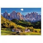 Puzzle  Trefl-26163 Val di Funes Valley, Dolomites, Italy