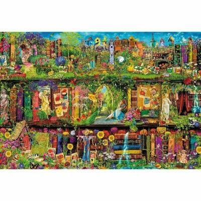 Puzzle  Trefl-26165 Fairy Bookcase