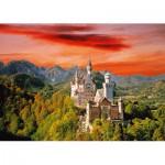 Puzzle  Trefl-27050 Schloss Neuschwanstein, Deutschland