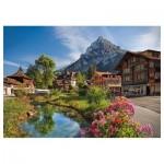 Puzzle  Trefl-27089 Alpen im Sommer
