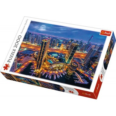 Puzzle Trefl-27094 Lights of Dubai