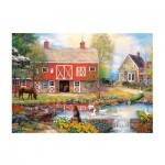 Puzzle  Trefl-27106 Idyllisches Leben