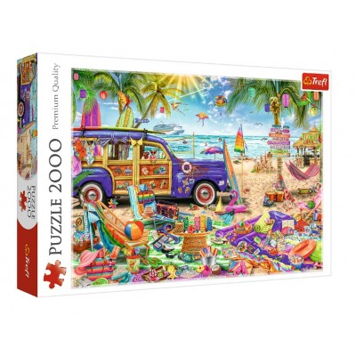 Puzzle Trefl-27109 Tropischer Urlaub