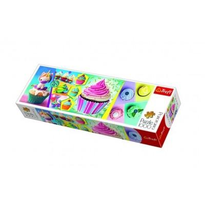 Puzzle Trefl-29045 Colorful Cupcakes