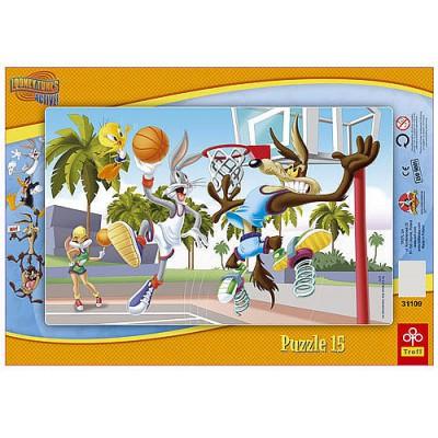Trefl-31109 Rahmenpuzzle: Looney Tunes