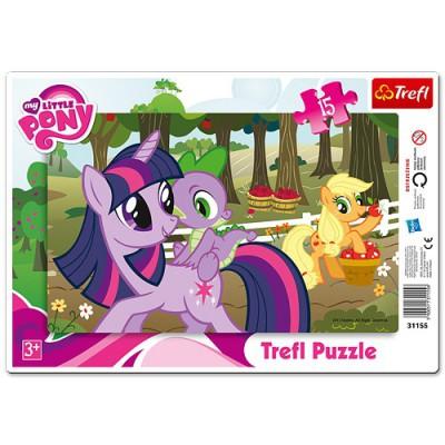 Trefl-31155 Rahmenpuzzle: Mein kleines Poney