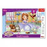 Trefl-31204 Rahmenpuzzle - Sofia the First