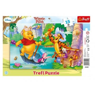 Trefl-31209 Rahmenpuzzle - Winnie Pooh
