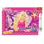 Trefl-31213 Rahmenpuzzle - Barbie