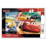 Trefl-31277 Rahmenpuzzle - Cars