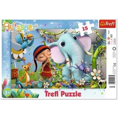 Trefl-31278 Rahmenpuzzle - Wissper