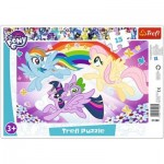 Trefl-31280 Rahmenpuzzle - My Little Pony