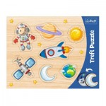 Trefl-31310 Rahmenpuzzle - Weltraumeroberung