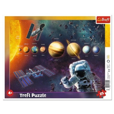 Trefl-31342 Rahmenpuzzle - Sonnensystem