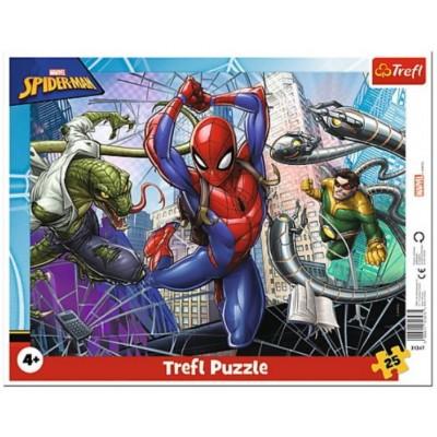 Trefl-31347 Rahmenpuzzle - Spider-Man