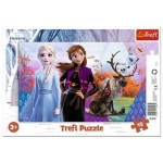 Trefl-31348 Rahmenpuzzle - Frozen II